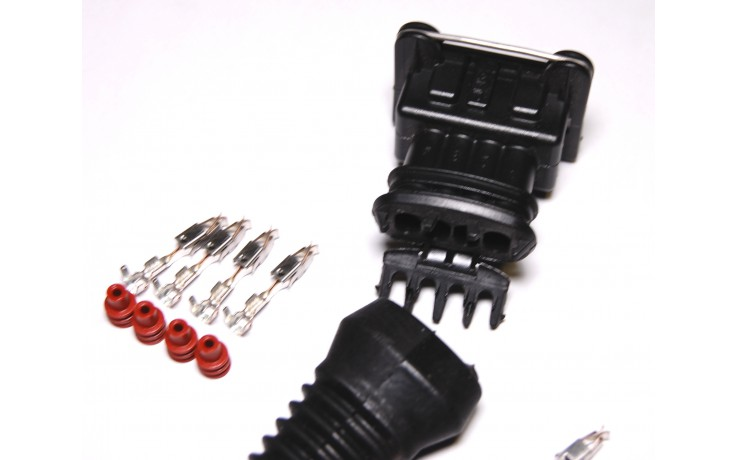 EV1 Style 4 Pin Female Connector